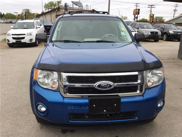 2011 Ford Escape XLT Automatic (Stk: 1023) in Winnipeg - Image 1 of 14