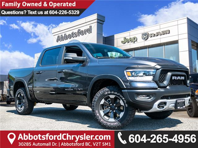 2019 RAM 1500 Rebel (Stk: K758443) in Abbotsford - Image 1 of 23