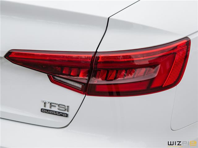 2017 Audi A4 2.0T Komfort (Stk: 37779) in Toronto - Image 9 of 30
