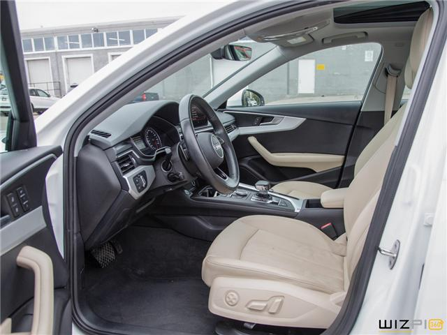 2017 Audi A4 2.0T Komfort (Stk: 37779) in Toronto - Image 14 of 30