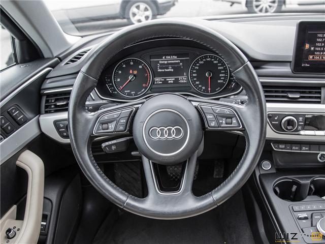 2017 Audi A4 2.0T Komfort (Stk: 37779) in Toronto - Image 17 of 30