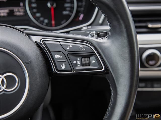 2017 Audi A4 2.0T Komfort (Stk: 37779) in Toronto - Image 18 of 30