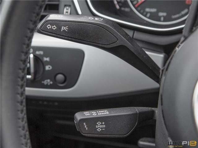2017 Audi A4 2.0T Komfort (Stk: 37779) in Toronto - Image 21 of 30