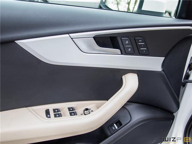 2017 Audi A4 2.0T Komfort (Stk: 37779) in Toronto - Image 24 of 30