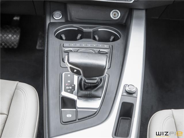 2017 Audi A4 2.0T Komfort (Stk: 37779) in Toronto - Image 25 of 30