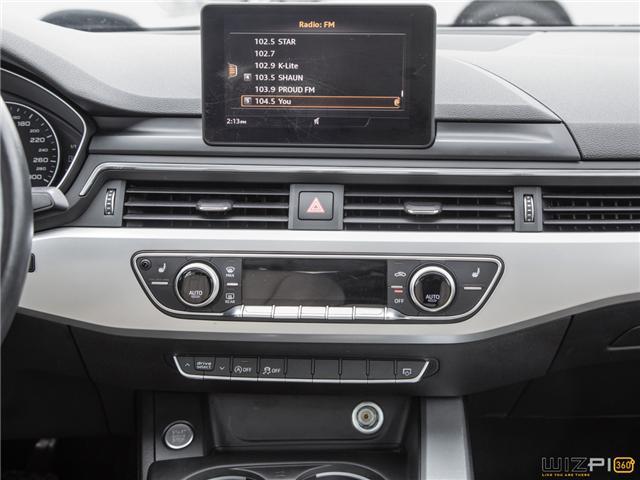 2017 Audi A4 2.0T Komfort (Stk: 37779) in Toronto - Image 26 of 30