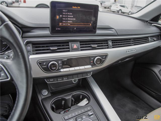 2017 Audi A4 2.0T Komfort (Stk: 37779) in Toronto - Image 27 of 30