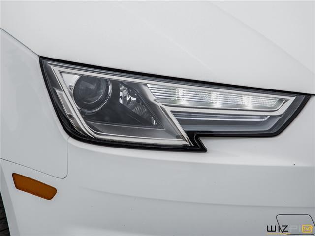 2017 Audi A4 2.0T Komfort (Stk: 37779) in Toronto - Image 11 of 30