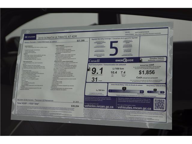 2019 Hyundai Sonata 2.0T Ultimate (Stk: 119-199) in Huntsville - Image 11 of 34