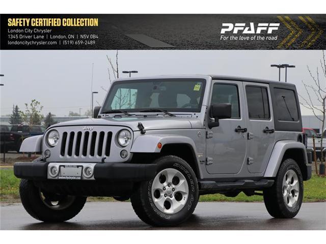 2014 Jeep Wrangler Unlimited Sahara (Stk: LC9440A) in London - Image 1 of 18