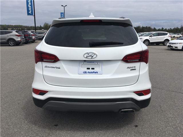 2018 Hyundai Santa Fe Sport 2.4 Premium (Stk: 18-40924RJB) in Barrie - Image 6 of 27