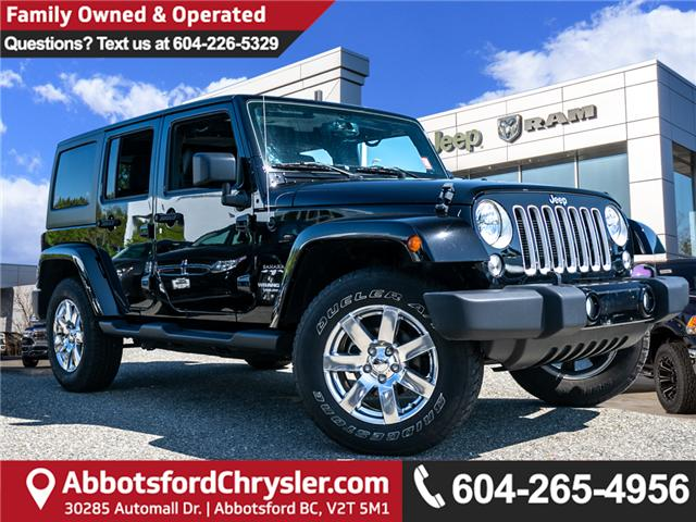 2017 Jeep Wrangler Unlimited Sahara (Stk: K424928A) in Abbotsford - Image 1 of 22