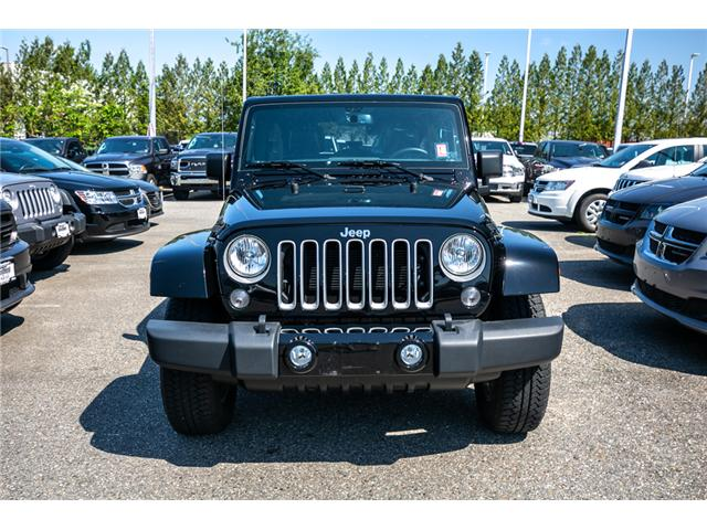 2017 Jeep Wrangler Unlimited Sahara (Stk: K424928A) in Abbotsford - Image 2 of 22