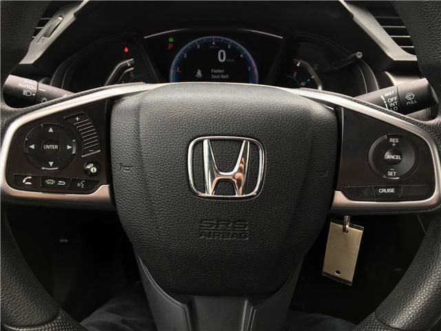 2016 Honda Civic LX (Stk: C19949A) in Toronto - Image 11 of 19