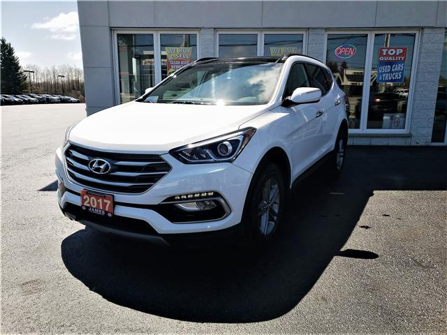 2017 Hyundai Santa Fe Sport 2.4 Luxury (Stk: P02597A) in Timmins - Image 1 of 13