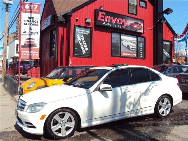 2011 Mercedes-Benz C-Class Base (Stk: ) in Ottawa - Image 1 of 28