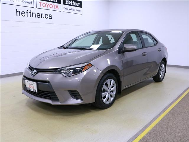 2016 Toyota Corolla LE (Stk: 195365) in Kitchener - Image 1 of 29