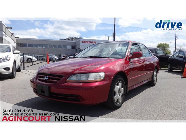 2002 Honda Accord EX-L (Stk: U12365A) in Scarborough - Image 1 of 13