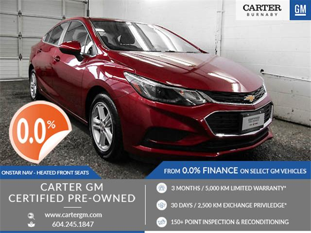 2018 Chevrolet Cruze LT Auto (Stk: P9-58410) in Burnaby - Image 1 of 23