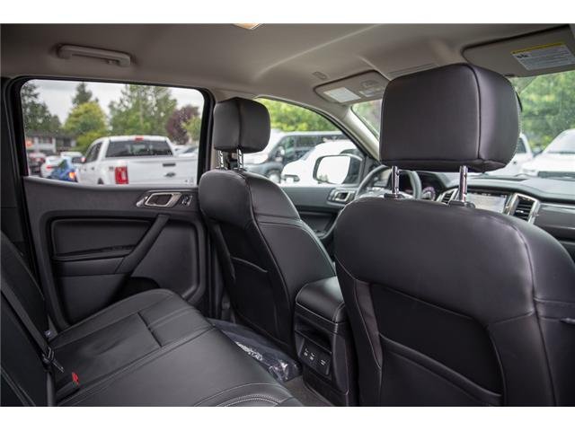 2019 Ford Ranger Lariat (Stk: 9RA6723) in Vancouver - Image 18 of 28