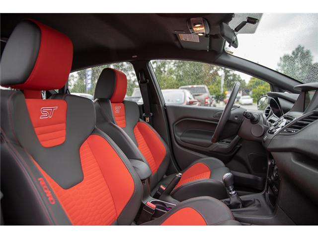 2018 Ford Fiesta ST (Stk: P0584) in Vancouver - Image 17 of 28