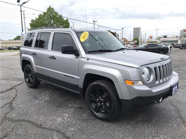 2015 Jeep Patriot Sport/North (Stk: 19774A) in Windsor - Image 1 of 11