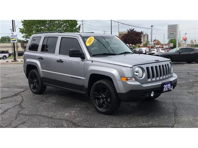 2015 Jeep Patriot Sport/North (Stk: 19774A) in Windsor - Image 2 of 11