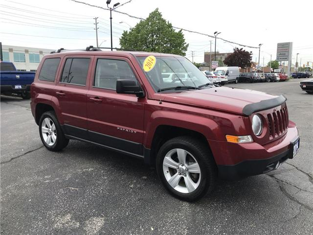 2014 Jeep Patriot Limited (Stk: 191106A) in Windsor - Image 1 of 11