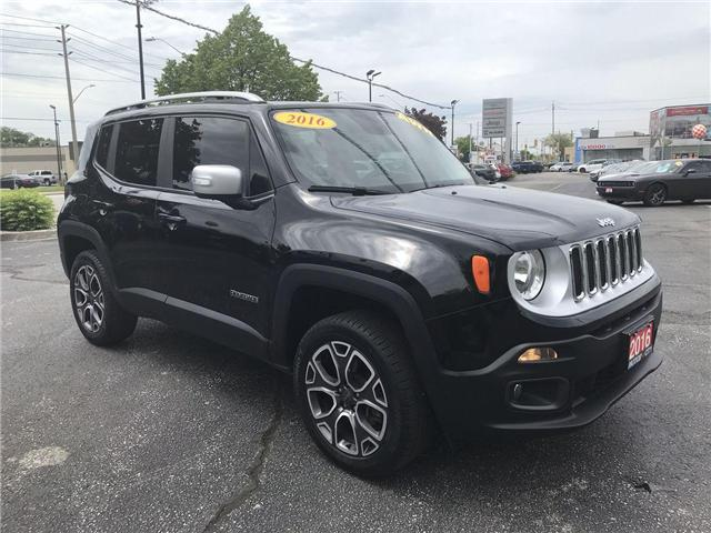 2016 Jeep Renegade Limited (Stk: 191123A) in Windsor - Image 1 of 14