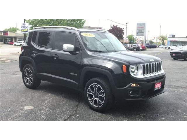 2016 Jeep Renegade Limited (Stk: 191123A) in Windsor - Image 2 of 14