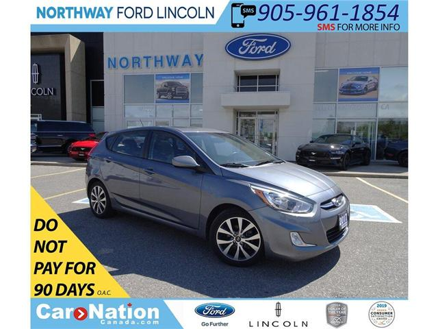2017 Hyundai Accent SE | HTD SEATS | BLUETOOTH | SUNROOF | KEYLESS | (Stk: DR187) in Brantford - Image 1 of 37