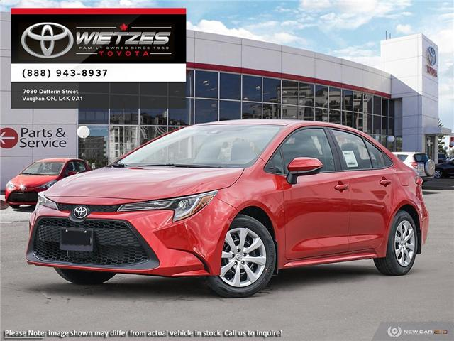 2020 Toyota Corolla LE (Stk: 68835) in Vaughan - Image 1 of 24