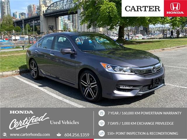 2016 Honda Accord Sport (Stk: 6K18151) in Vancouver - Image 1 of 25