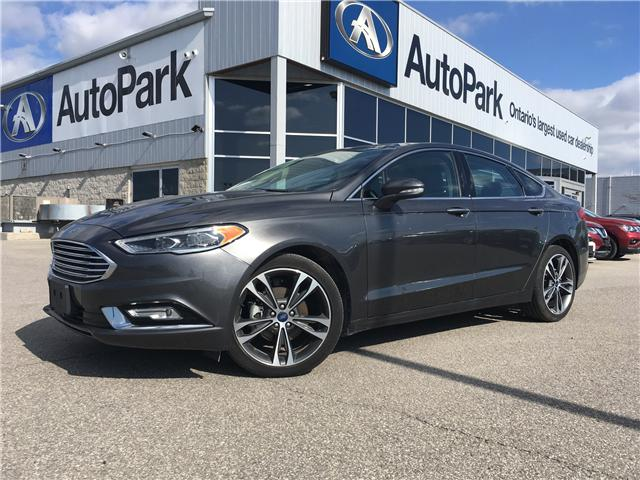2018 Ford Fusion Titanium (Stk: 18-36490RMB) in Barrie - Image 1 of 26