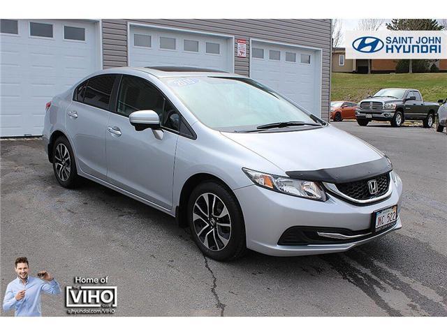 2015 Honda Civic EX (Stk: U2173) in Saint John - Image 1 of 17
