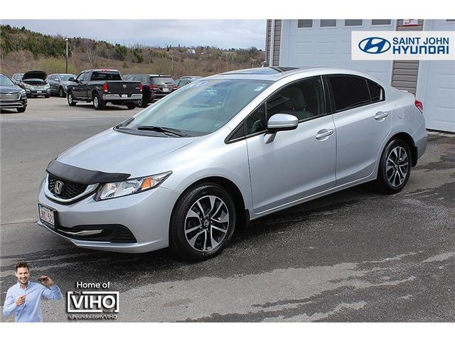 2015 Honda Civic EX (Stk: U2173) in Saint John - Image 2 of 17