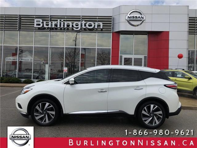 2016 Nissan Murano Platinum (Stk: A6709) in Burlington - Image 1 of 19