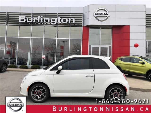 2013 Fiat 500 Sport (Stk: Y1148A) in Burlington - Image 1 of 16