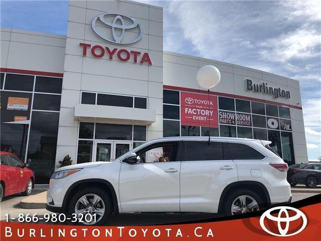 2014 Toyota Highlander Limited (Stk: U10378) in Burlington - Image 1 of 19