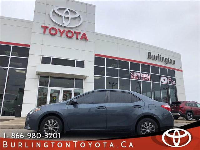 2015 Toyota Corolla CE (Stk: U10533) in Burlington - Image 1 of 18