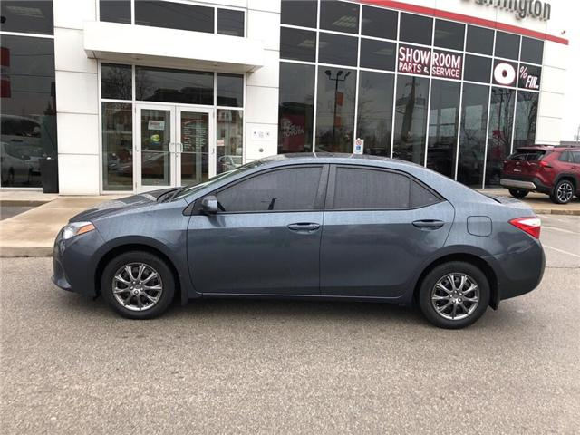 2015 Toyota Corolla CE (Stk: U10533) in Burlington - Image 2 of 18