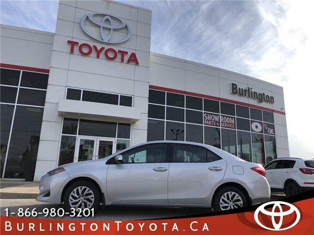 2018 Toyota Corolla LE (Stk: U10611) in Burlington - Image 1 of 18