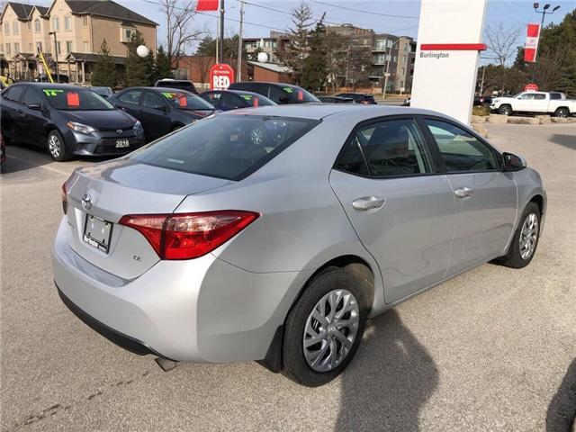 2018 Toyota Corolla LE (Stk: U10611) in Burlington - Image 5 of 18