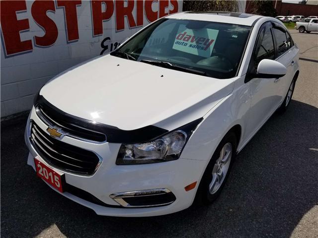 2015 Chevrolet Cruze 2LT (Stk: 19-348) in Oshawa - Image 1 of 16