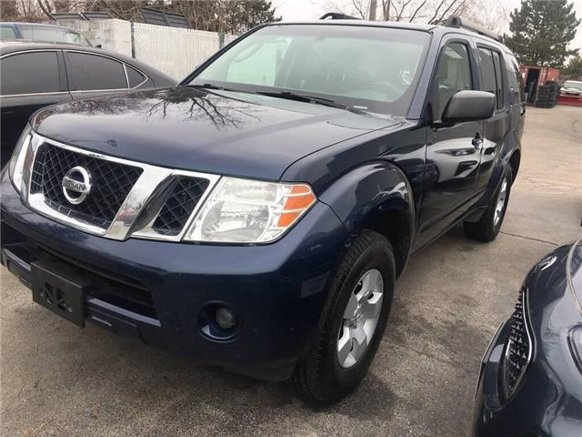 2008 Nissan Pathfinder  (Stk: W0123) in Burlington - Image 1 of 11