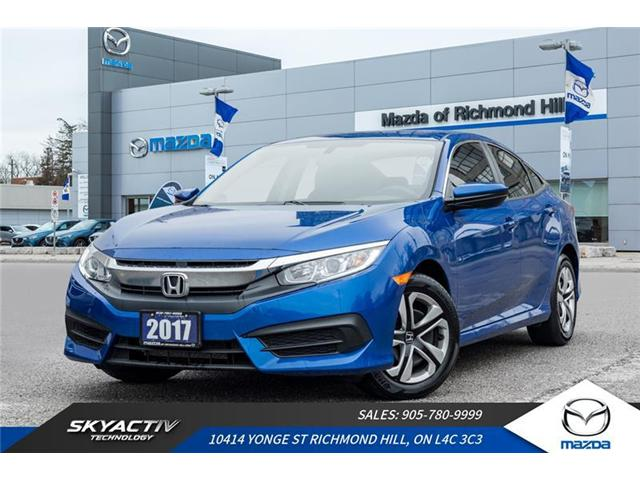 2017 Honda Civic LX (Stk: 18-1066A) in Richmond Hill - Image 1 of 19