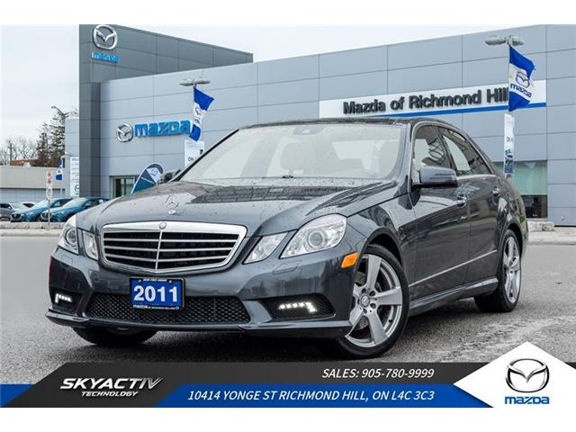 2011 Mercedes-Benz E-Class Base (Stk: P0408) in Richmond Hill - Image 1 of 20