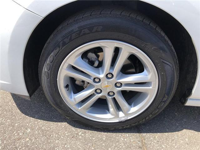 2018 Chevrolet Cruze LT|TRUE NORTH|SUNROOF|REAR CAM|BLUETOOTH| (Stk: PW18229) in BRAMPTON - Image 8 of 18