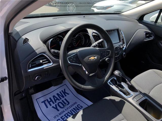 2018 Chevrolet Cruze LT|TRUE NORTH|SUNROOF|REAR CAM|BLUETOOTH| (Stk: PW18229) in BRAMPTON - Image 9 of 18