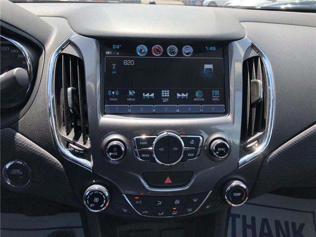2018 Chevrolet Cruze LT|TRUE NORTH|SUNROOF|REAR CAM|BLUETOOTH| (Stk: PW18229) in BRAMPTON - Image 15 of 18